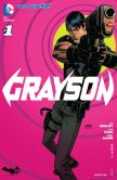 Book Cover Image. Title: Grayson (2014- ) #1 (NOOK Comic with Zoom View), Author: Tim Seeley