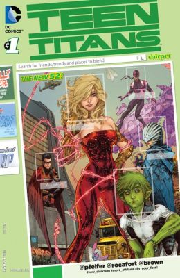 Teen Titans #1 (NOOK Comic with Zoom View)
