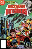 Book Cover Image. Title: Batman and the Outsiders (1983-1987) #2 (NOOK Comic with Zoom View), Author: Mike Barr
