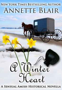 A Winter Heart (A Sensual Amish Historical Romance Novella)