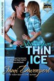 Book Cover Image. Title: Skating on Thin Ice:  Seattle Sockeyes, Author: Jami Davenport