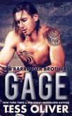 Book Cover Image. Title: Gage (The Barringer Brothers), Author: Tess Oliver