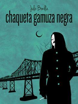 Chaqueta De Gamuza Negra