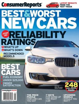 Consumer Reports' Best and Worst New Cars 2012