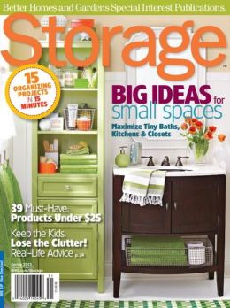 Storage Spring 2013 A Better Homes And Gardens Special