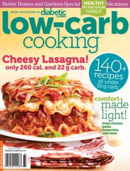 Diabetic Living Low Carb Cooking 2013