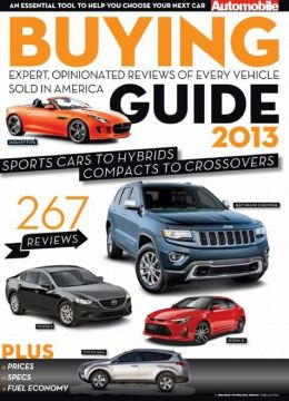Automobile's Buyer's Guide 2013