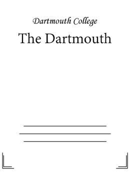 The Dartmouth