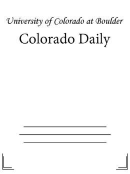 Colorado Daily