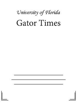 Gator Times