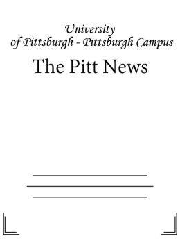 The Pitt News