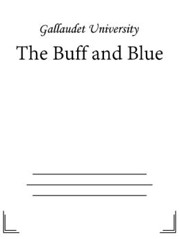 The Buff and Blue