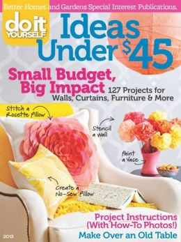 Do It Yourself Ideas Under $45