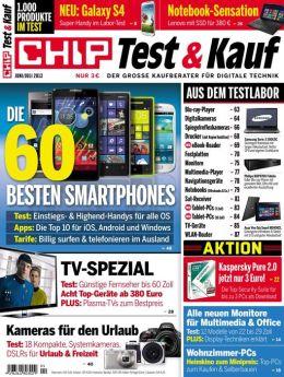 CHIP Test & Kauf-Juni/Juli 2013