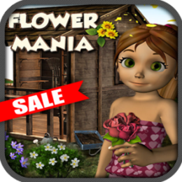 Fun Flower Mania Tile Match 3 Easter Kids Game