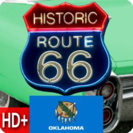 Route 66 - Oklahoma - Live HD+ Wallpaper