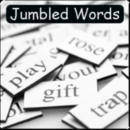 Jumbled Words