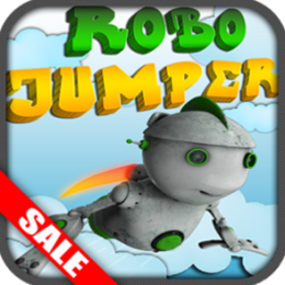 Robo Jumper Finger Robot Jumping Game