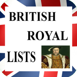 British Royal Family Lists