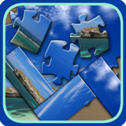 Beaches Jigsaw and Slider