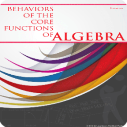 Behaviors of the Core Functions of Algebra