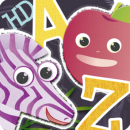 ABC Animal vs Veggie Flash Cards HD - Fun Animals & Vegetables Alphabet Flashcards from A to Z