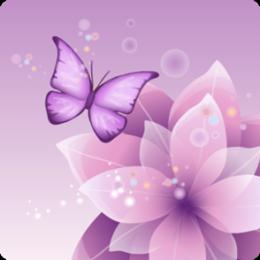 Butterfly Sparkle HD Live Wallpaper