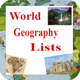 World Geography Lists
