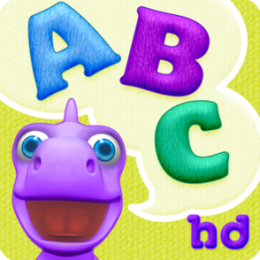 ABCs with Dally Dino HD - Preschool Kids Learn the Alphabet with Flashcards and Games