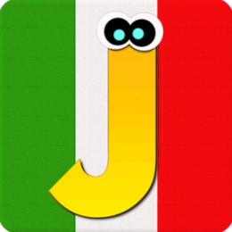 iJumble - Italian Language Vocabulary and Spelling Word Game