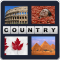 4 Pics 1 Word- What's the Country Init