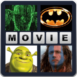4 Pics 1 Word- What's the Movie Init