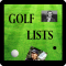 Golf Lists