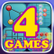 Entertainment Puzzle Games 4-pack