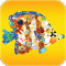 Many Little Things - Animal Fun: An App Game with Animals Made of Many Tiny Hidden Objects to Find