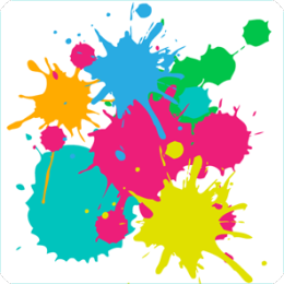 Paint Splash HD Live Wallpaper
