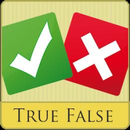 True Or False - Test Your Mind