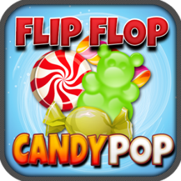 Flip Flop Candy Pop Match 3 Tile Game
