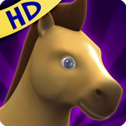 Here's Talky Pete Tablet - The Talking Pony Horse