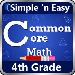 4th Grade Common Core Math by WAGmob