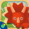 Dino Puzzle - fun dinosaur games for toddlers, preschool and kids