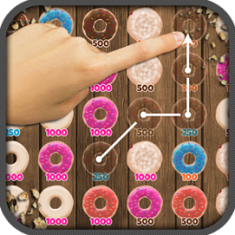 Donut Swipe Frenzy Match 3 Puzzle Game