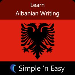 Learn Albanian Writing by WAGmob