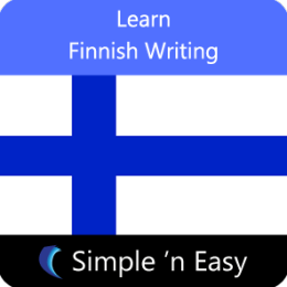Learn Finnish Writing by WAGmob