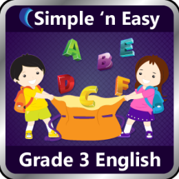 Grade 3 English by WAGmob