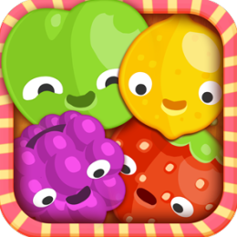 Saga of Fruit Candy - match the 3 colors to crush