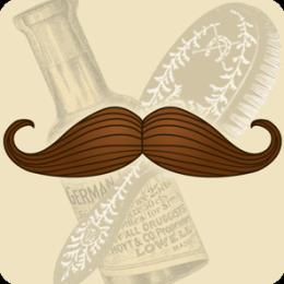 Handlebar Moustache HD Live Wallpaper