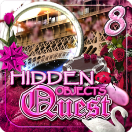 Hidden Objects Quest 8: Streets of Paris