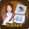 Italian in a Flash Learn Quick with Easy Speak & Talk Flashcards!