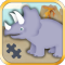 Dinosaur Games for Kids: Cute, Cool, and Fun Dino Train Jigsaw Puzzles for Preschool and Toddlers